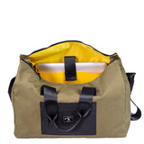 Sling Duffle in Coyote by Wheelmen & Co.