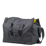 Sling Duffle in Metallic Black by Wheelmen & Co.