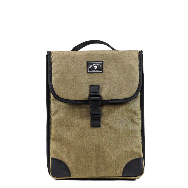Padded Laptop Case in Coyote by Wheelmen & Co.