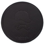 Wheelmen & Co. Leather Coasters
