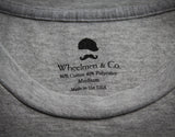 Mr. Wheelmen Cut N Sew Tee- Heather Grey