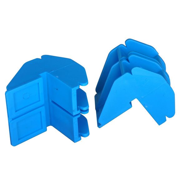 OX Professional Rubberised Plastic Line Block - Pair (2)