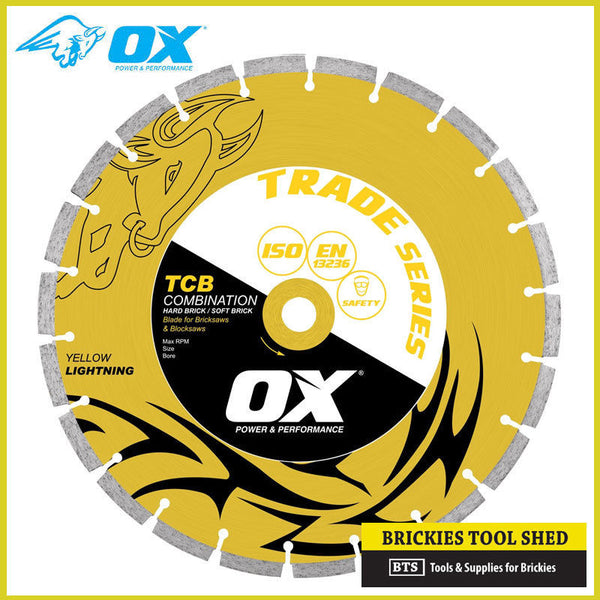 "OX Trade 14"" Diamond Saw Blade - Combo Blade 50/50"