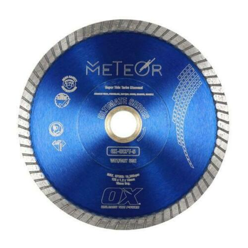 OX Ultimate UCFT Fine Turbo Porcelain Tile Diamond Blade - Meteor
