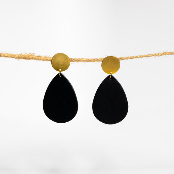 Gold Teardrop Earrings - YSRA Supply
