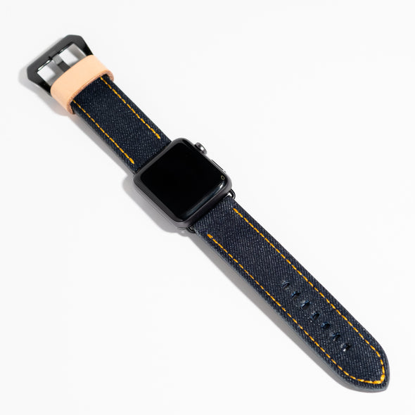 Raw Denim Watch Strap - YSRA Supply