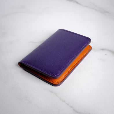 Pocket Organizer - Purple/Orange Chevre - YSRA Supply