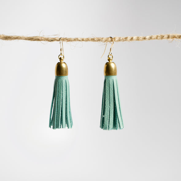 Statement Tassel Earrings- Short - YSRA Supply