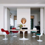 "Saarinen Dining Table - 72"" Oval"