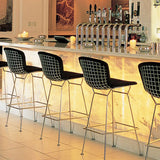 Knoll Harry Bertoia - Stool Fully Upholstered, Bar Height