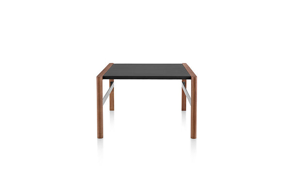 Geiger Brabo™ Occasional Coffee Table with Leather-wrapped Top