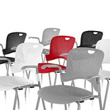 Herman Miller Caper® Stacking Chair - with Arms
