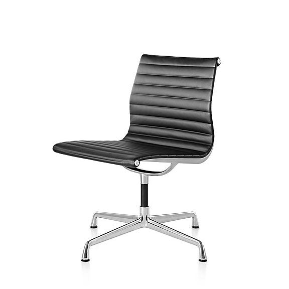 Eames Aluminum Group Side Chair - No Arms