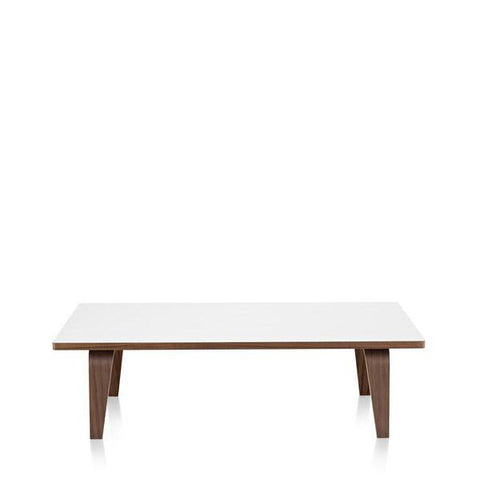 Herman Miller Eames® Molded Plywood  Rectangular Coffee Table with Wood Base