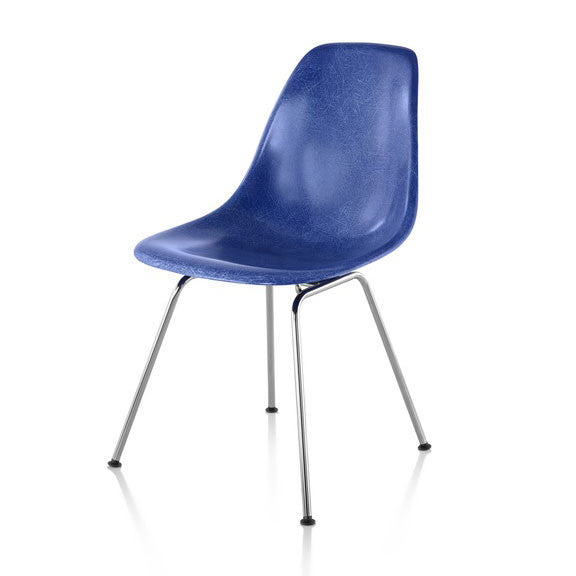 Herman Miller Eames® Molded Fiberglass Side Chair 4-Leg Base