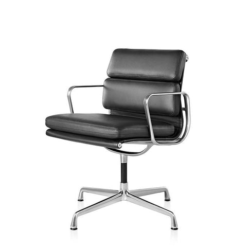 Eames® Soft Pad Side Chair with Arms