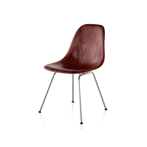 Herman Miller Eames® Molded Wood Side Chair - 4-Leg Base