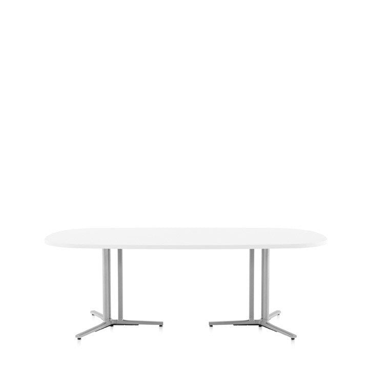 Delightful Herman Miller Small Business   Everywhere Table   Oval ...