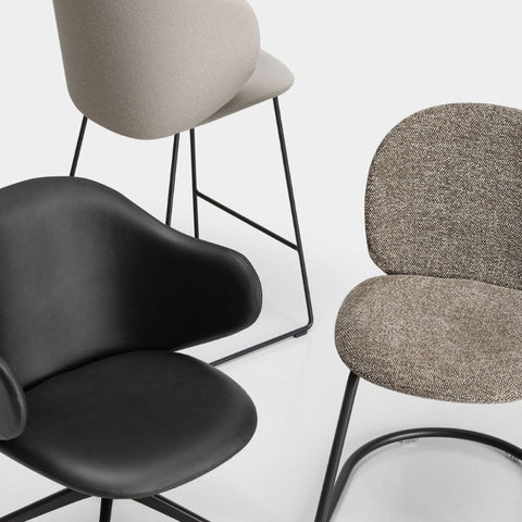 Dua Chair, Armchair & Stool
