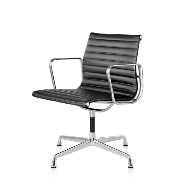 Eames® Aluminum Group Side Chair - With Arms