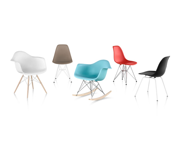 Eames® Molded Plastic Chairs