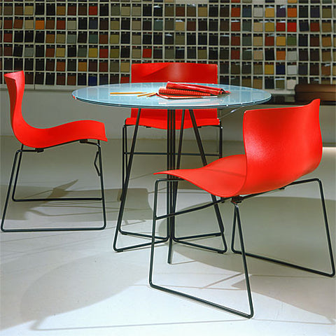 Knoll Vignelli Associates - Paperclip Cafe Table - Round