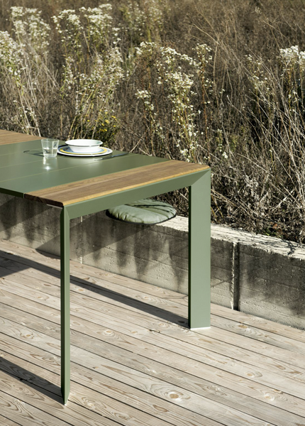 Nori Slatted Outdoor Dining Table
