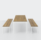 be—Easy slatted Dining Table