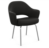 Saarinen Executive Chair - Armchair with Tubular Legs