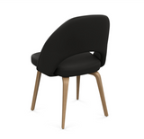 Saarinen Executive Chair - Armless with Wood Legs