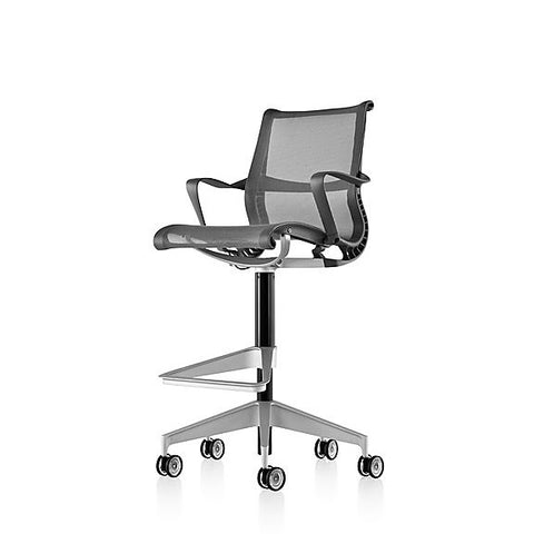 Herman Miller Setu® Stool - with arms