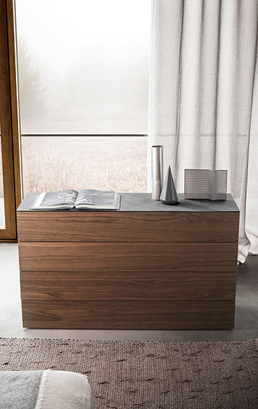 Spazio Dressers and Night Tables
