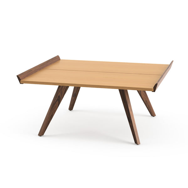 Knoll George Nakashima - Splay legs table and tray