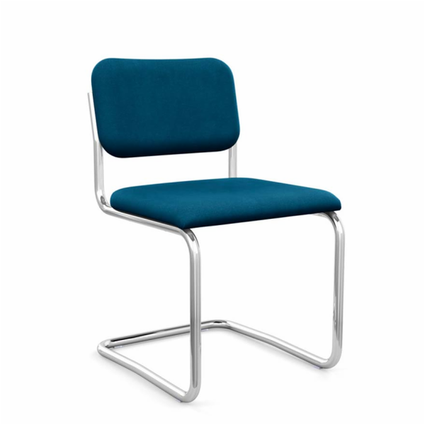 Cesca™ Chair - Armless with Upholstered Seat & Back