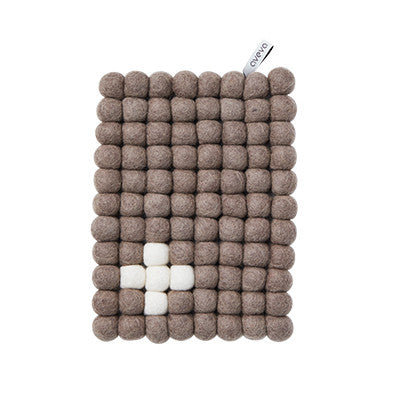 Aveva Wool Trivets - Rectangular Nature Cross 1027