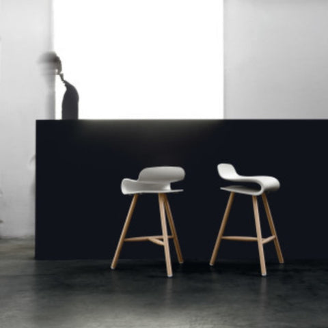 BCN Stool (wooden base)