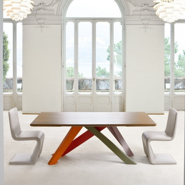 BIG EXTENDABLE DINING TABLE
