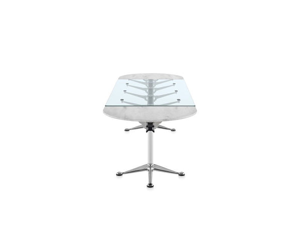 Herman Miller Burdick Group Oval Table