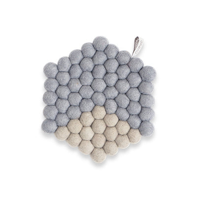 Aveva Wool Trivets - Hexagon