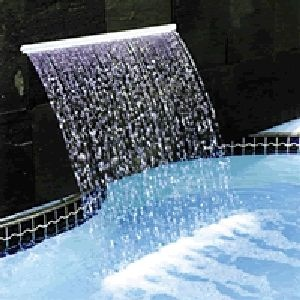 Astral Pool 1200mm Cascade Waterfall with 1& Lip (Bottom Entry)