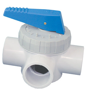 Davey 3 Way Full Flow Valve - 40mm