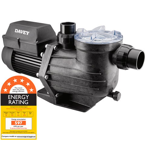Davey PowerMaster ECO2 Energy Efficient Pool Pump