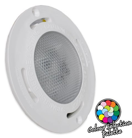 Aqua-Quip EVO2 Concrete Series Multi Colour LED Pool Light - Replacement Light Only