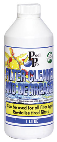 Filter Cleaner and Degreaser (1Ltr)