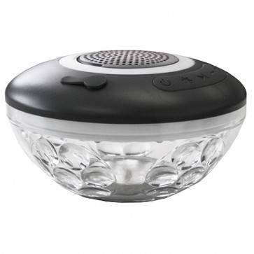 Floating Wireless Speaker & Underwater Light Show - Bluetooth Operated & Rechargeable