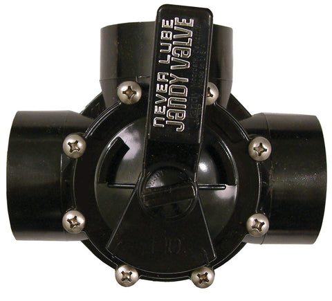 Jandy 3 Way Never Lube Valve - 40mm