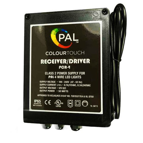 PAL Colour Touch LED Driver w/Remote & Wi-Fi Module