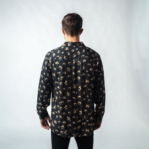 Dark Leopard | Long-sleeved