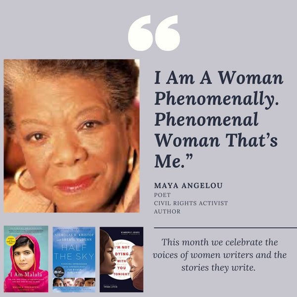 """I Am A Woman Phenomenally. Phenomenal Woman That's Me"""