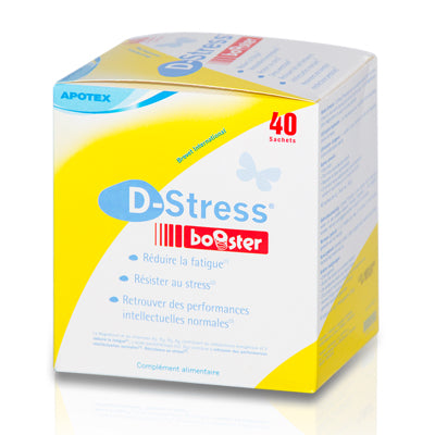 D-Stress Booster - 20 sticks - réduit la fatigue et le stress